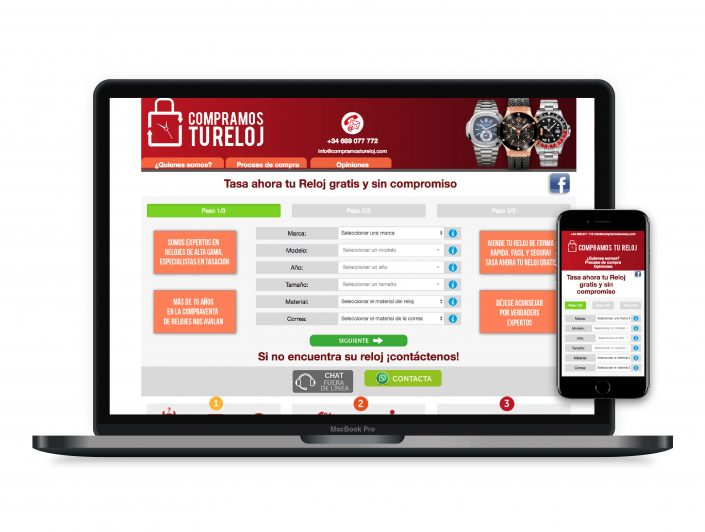 Diseño paginas web Barcelona
