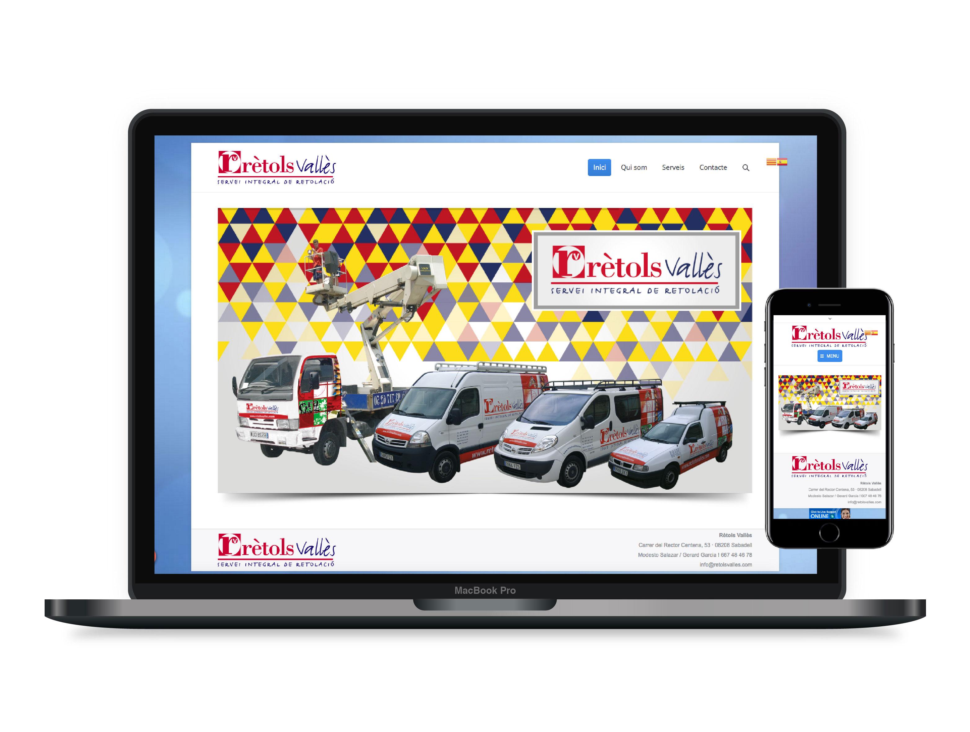 Diseño páginas web Sabadell