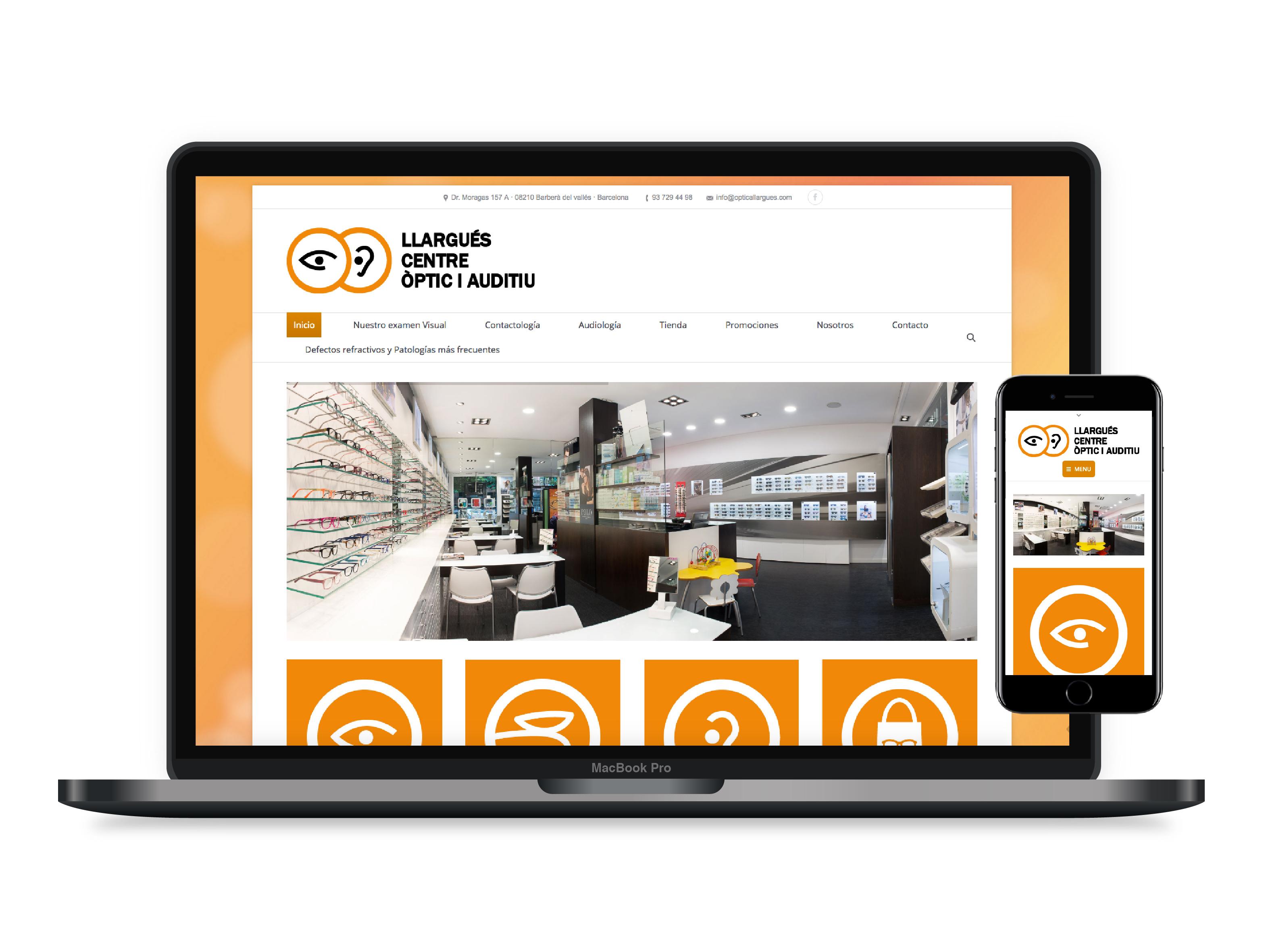 Diseño paginas web Barbera
