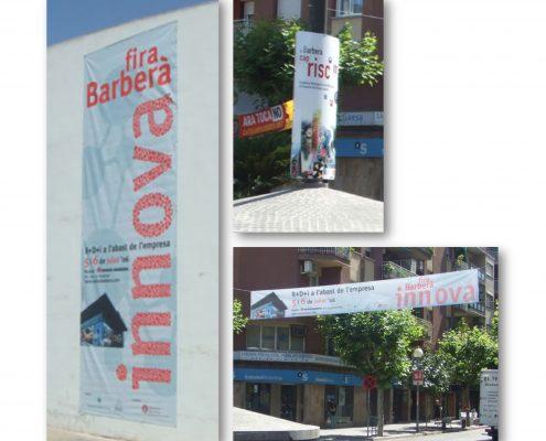 pancartas barberà vallès