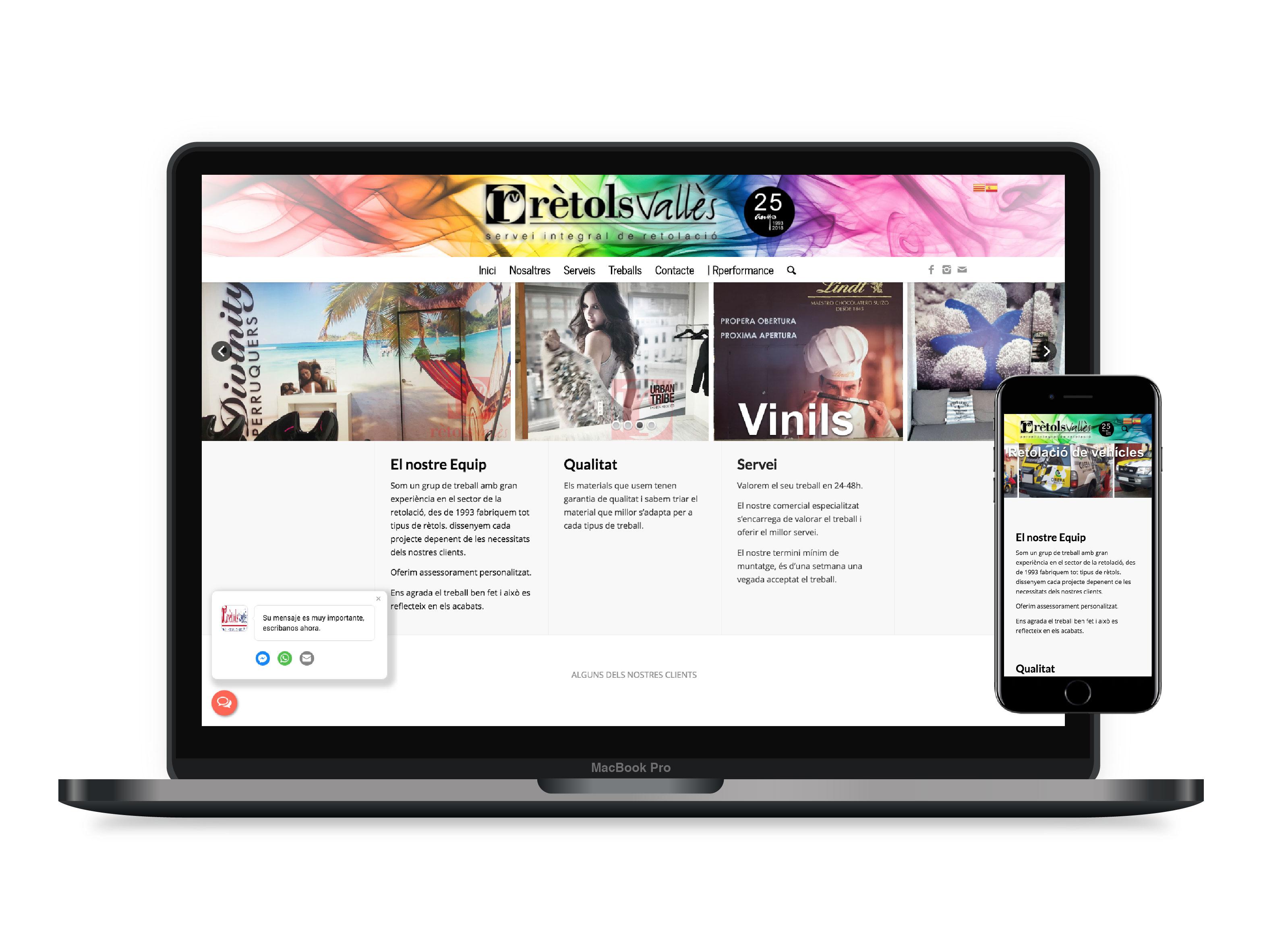 Diseño páginas web Barcelona