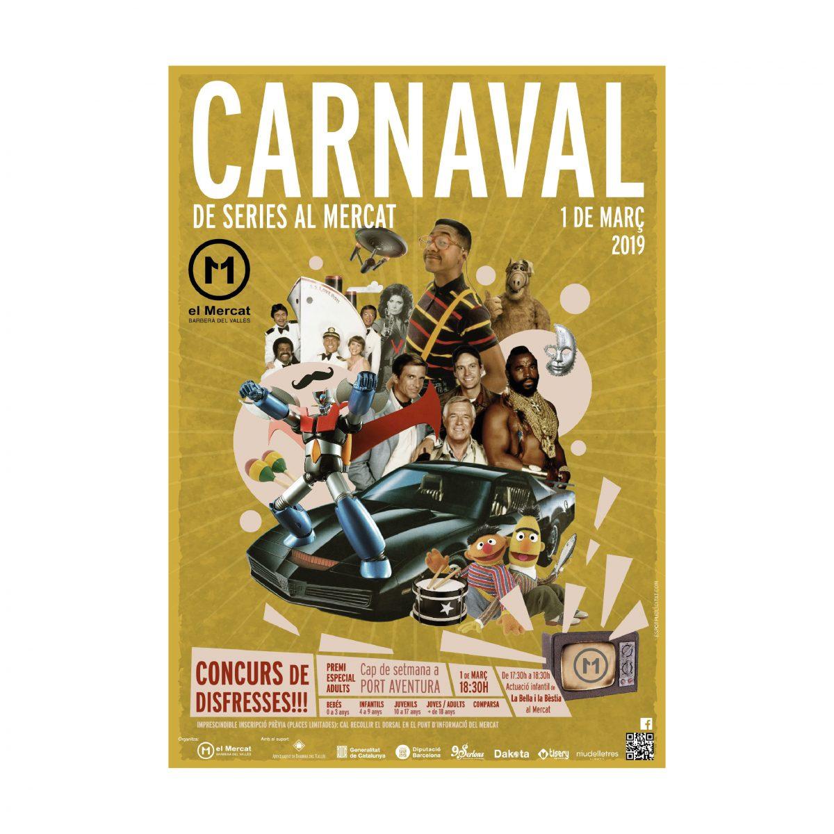 Cartel Carnaval Mercat 11 setembre