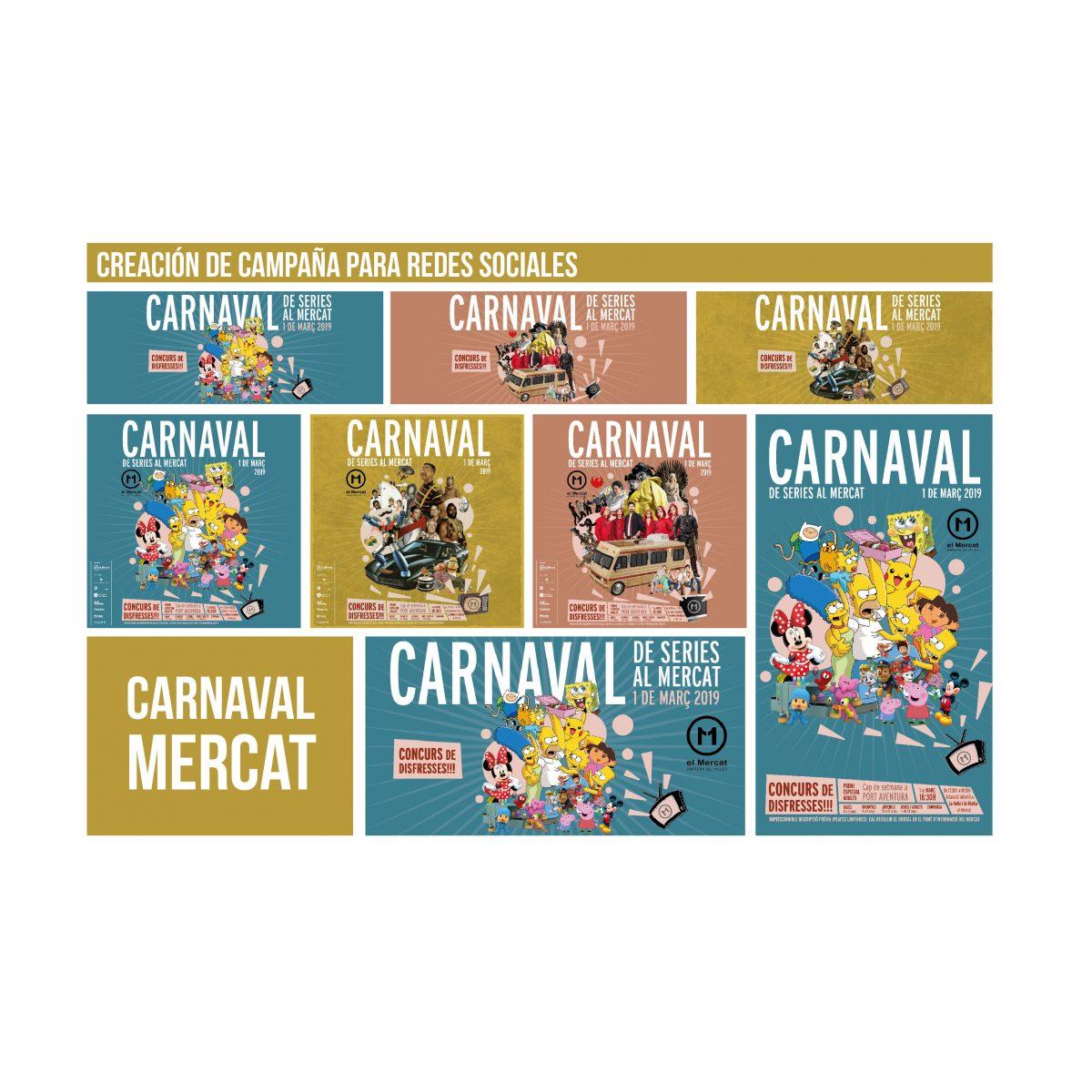 Campaña publicidad Carnaval Mercat 11 setembre